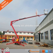 Install light lift indoor man boom lift