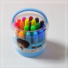 conjunto de arte para niños color pintura fácil pluma de agua de color 18 unids