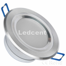 Down Light (3W 2,5 polegadas recesso downlight, Dimmable, 330lm, CE. RoHS, FCC)