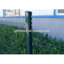 Clôture en treillis en fer soudé en PVC / PE Revêtu