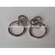 Alibaba China custom fashion metal clothing labels
