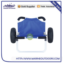 Folding boat trailer, Aluminum Beach Trolley for Kayak, Long boat trailers
