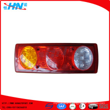Amber-Red-White 24V LED Truck Tail Light With 27 LED Quantity