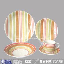 FDA-Test bestandener keramischer Geschirr-Platten-Satz