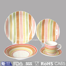 Ensemble de plats en céramique pour assiettes FDA Test