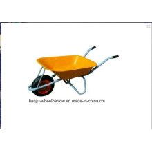 Schubkarre mit Metallwanne Wb6220 Sie braucht