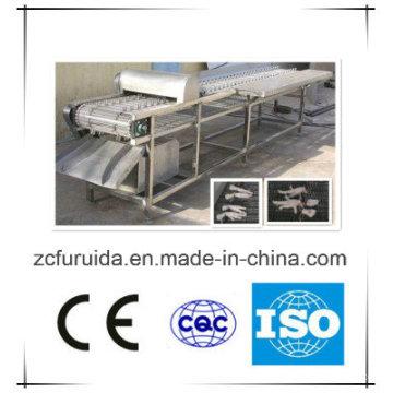 Machine de découpage de pieds inox poulet (abattage de volailles)