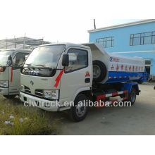 Top Quality Dongfeng mini Hanging barrels garbage truck