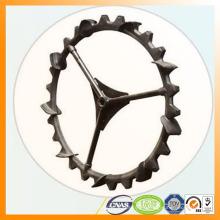 neumático de la repicadora con composición de goma fuerte acero base