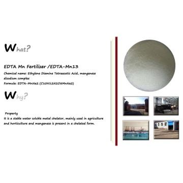 EDTA Mn 13% Organic Fertilizer