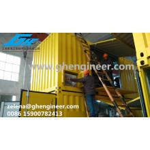 Machine de pesée et d'ensachage pour matériaux en vrac