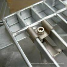 Platform Foot Galvanized Steel Grid