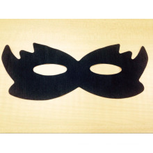 Masque pour les yeux lisse non tissé noir Masque pour les yeux chaud balck