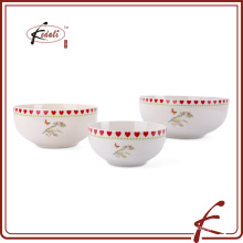 unique personalized wholesale custom printed ceramic bowl