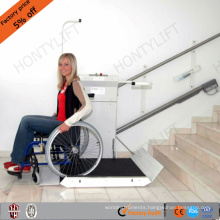 China supply inclined through floor wheelchair stairlifts for disabled