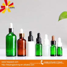dropper bottle with rubber long thin tip