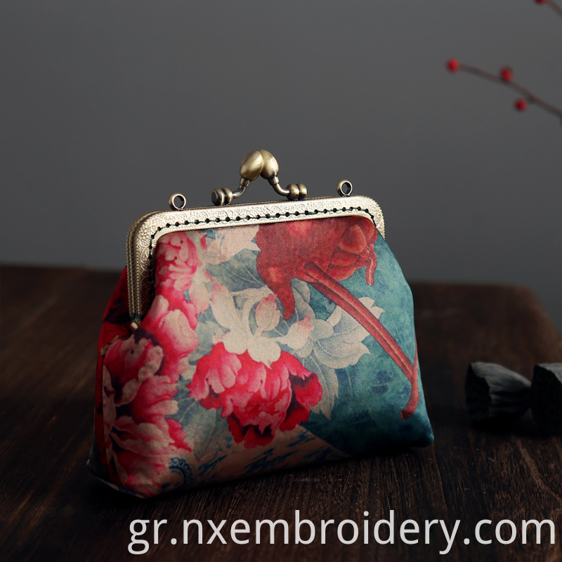 hand embroidered Handbag