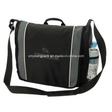 Promotional Black Polyester Business Satchel Bag