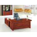 Walnut wood veneer office desk