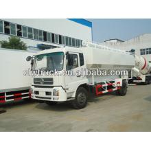 Caminhão de grão a granel, caminhão de transporte de granel-forragem, caminhão de transporte de grão a granel, Dongfeng caminhão de transporte a granel de alimentação,