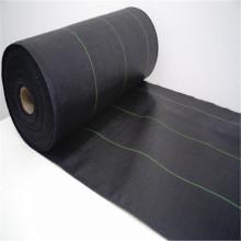 Schwarzes 100GSM 2m × 50m Bodendecker-Gewebe