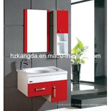 Cabinet de salle de bains en PVC / vanité de salle de bain en PVC (KD-307B)