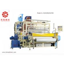 Máquina de película protetora de co-extrusão de cinco camadas
