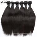 Venta caliente al por mayor 100% de cabello humano de la Virgen india sin procesar Comprar ahora
