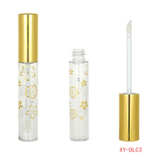 Beauteous ​Cylinder Gold Lipgloss Container