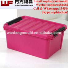 China Taizhou plastic injection container mold for storage box mould company in huangyan
