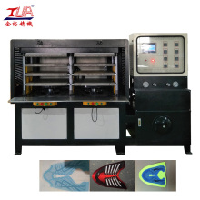 kpu lady running shoes making machine
