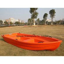 Venda quente 4m PE chinês barco pontão plástico pesca barco para venda