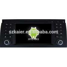 Android 4.4 Spiegel-Link Glonass / GPS 1080P Dual-Core-Auto-Navigator für BMW E39 mit GPS / Bluetooth / TV / 3G