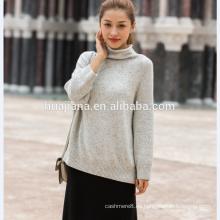 suéter de los neps coloridos de la cachemira de la mujer