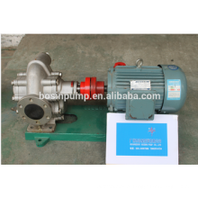 bomba de engrenagem hidráulica/bomba de engrenagem de aço inoxidável transferência de óleo alimentar