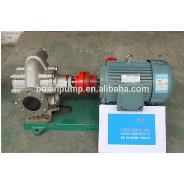 transferência de óleo de comida de aço inoxidável de engrenagens bomba de óleo bomba/alta pressão