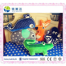 Creative Cartoon Animal Model Pillows/Plush Sleeping Baby Pillow