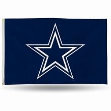 Design personalizado NFL impresso poliéster publicidade bandeira 3x5
