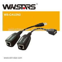 Adaptador de extensão USB 2.0 de 150 m sem necessidade de software Extremamente fácil de instalar