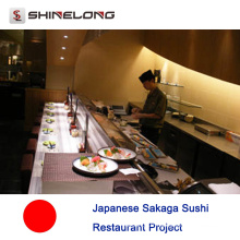 Projet de restaurant japonais Sakaga Sushi