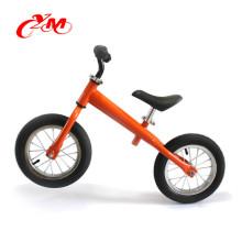 Preschool exercise walking balance bike/lightweight 12 inch steel balance bicycle/no pedal CE approved balance bike girls