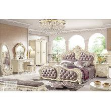 Antike Stil Klassische Schlafzimmer Möbel Set (HF-MG004)