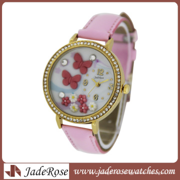 3D Butterfly and Flower Cute Mini Watch of Brand Model