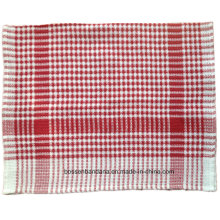 Customized Assorted Color Checked Striped Promotional Cotton Kitchen Dish Tea Cloth Towel