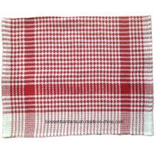 Personalizado Assorted Color Checked listrado promocionais algodão cozinha prato chá pano toalha