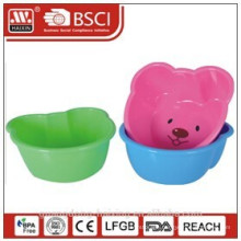 bear-shape plastic basin