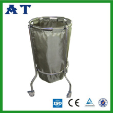 Single bag Nylon waste bin