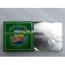 Paquete de 20 láminas de aluminio recicladas Hookah Hoja // Hoja de Shisha con agujeros
