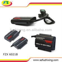 """USB3.0 zu IDE / SATA Adapter für 2,5 """"/ 3,5"""" Festplatte mit OTB"""