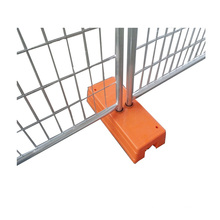 Galvanized temporary fence or movable fence (best price) Factory verifid by ISO and TUV Rheinland